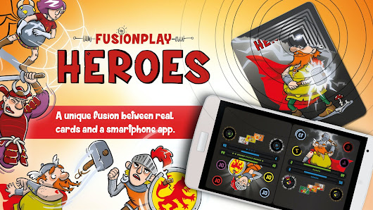 FusionPlay - Heroes, the first mobile NFC card game