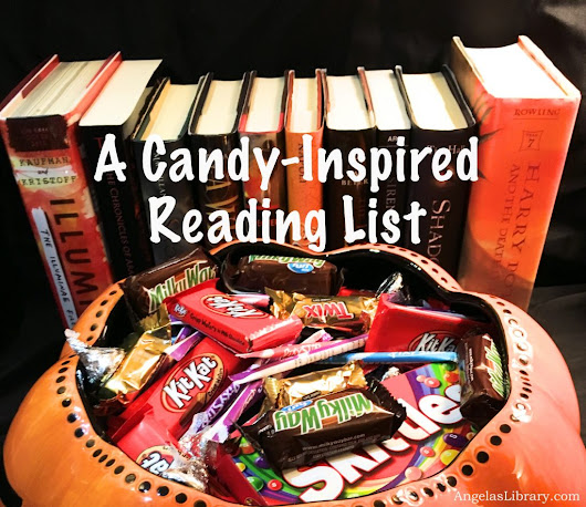 Fortnight of Fright | Books + Halloween Candies | Tripping Over Books