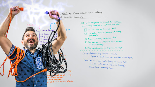 What SEOs Need to Know About Topic Modeling & Semantic Connectivity - Whiteboard Friday