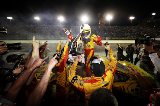 Joey Logano is the 2018 NASCAR champion; Driver talks the championship run - Racing News