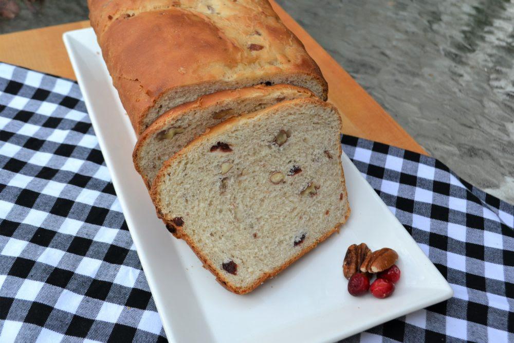 Cranberry Pecan Yeast Bread Recipe - Liz Bushong