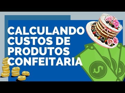 Cálculo de custos para confeitaria