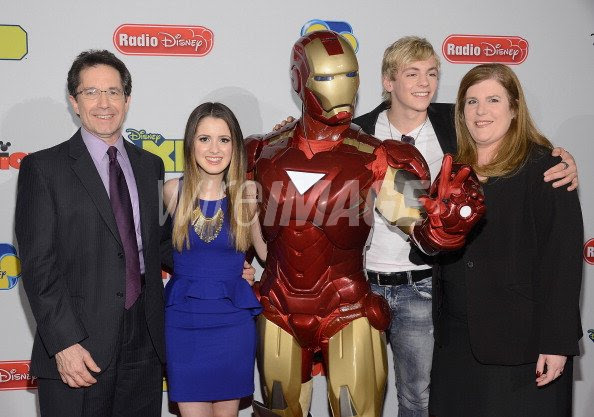 Gary Marsh Laura Marano Iron Man Ross Lynch And Rita Ferro Attend The Wireimage 163572017