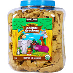 Kirkland Signature Organic Animal Cracker - 4 lb tub