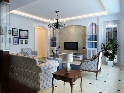 Great Art Decoration European Living Room Design