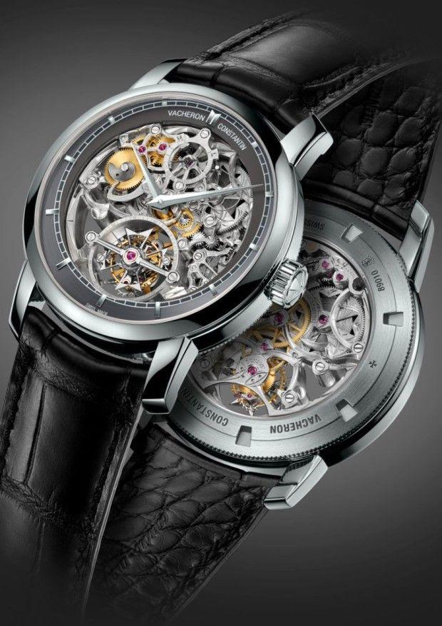 Vacheron Constantin Patrimony Traditionelle 14 Day Tourbillon Openworked watch