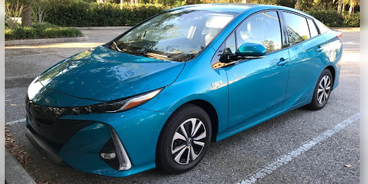 Pure Energy: Go Farther This Summer in the 2017 Toyota Prius Prime - GeekDad