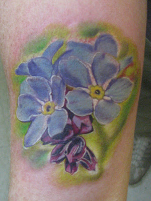 Stunning Celebrity Tattoos 30 Amazing Forget Me Not Flower Tattoo