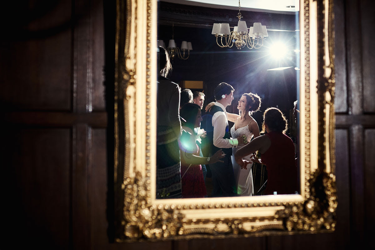 First Dance Wedding Photo at Lanwades Hall Wedding Photos - helloromancephotography.com