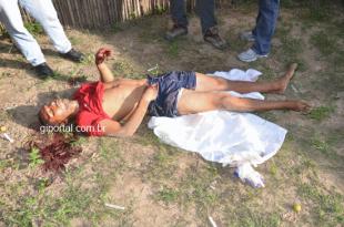 João Carlos Silva dos Santos morto a tiros em São José de Ribamar. Foto reprodução: Gi Portal