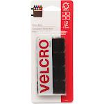 Velcro Squares Sticky Back Black