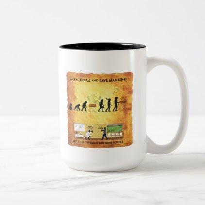 Coffee Mug This Smart Caveman Does Science