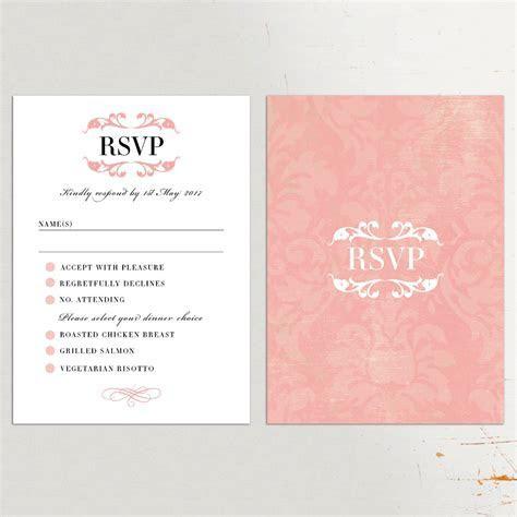 Wedding Invitation: Charming Wedding Rsvp Cards