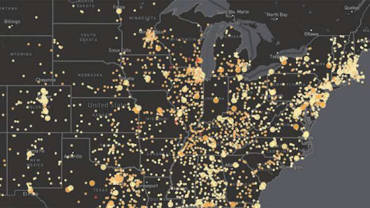 170 Million Americans Are Drinking Radioactive Water. This Interactive Map Shows You Are Too.