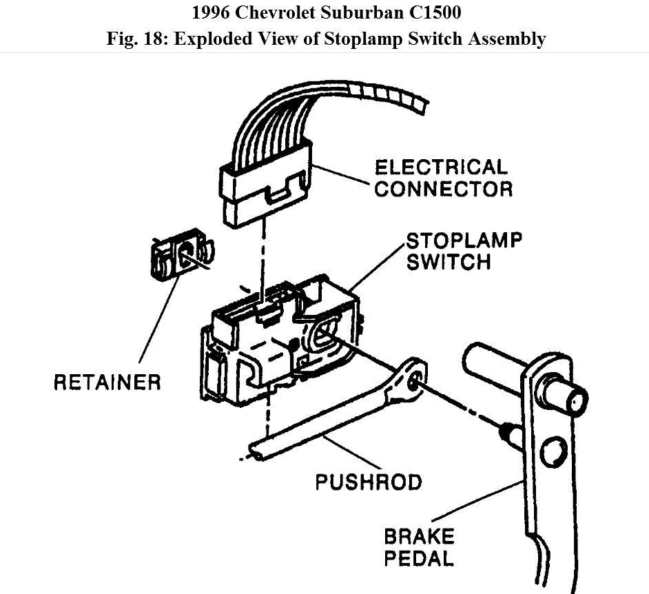 31 1998 Chevy Silverado Brake Light Switch Wiring Diagram
