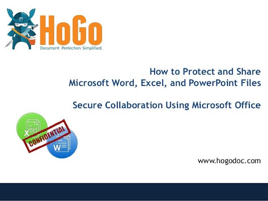 How to Protect and Share Microsoft Word and Excel Files