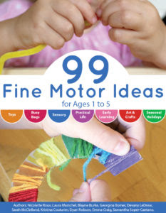 Fine Motor Ideas Cover Final ebook
