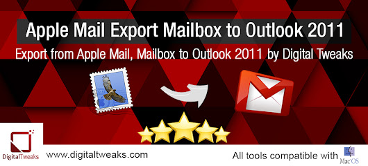Apple Mail export Mailbox to Outlook 2011