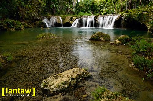 Cambugahay Falls Clear Water