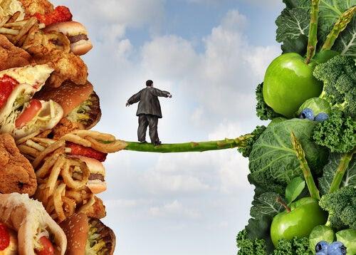 Relación entre el estrés y la mala alimentación