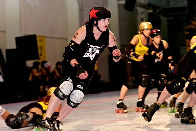that's how points are scored in roller derby