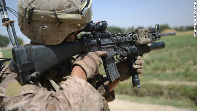 Desperate times: Marines told to 'save every round'