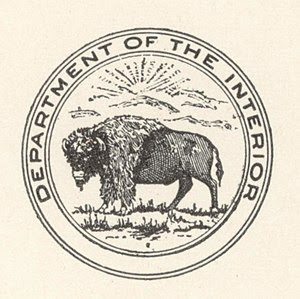 Seal of the U.S. Department of the Interior, f...