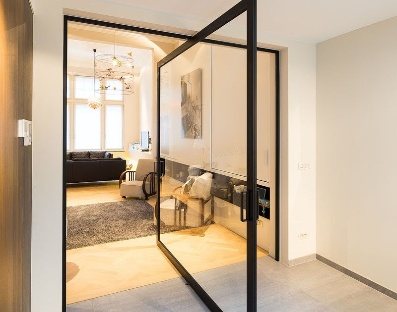 These Large Pivoting Doors Are Designed To Revolve 360 ...