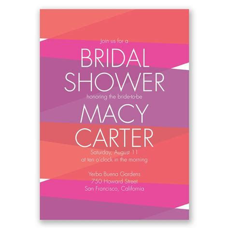 Crazy for Color Bridal Shower Invitation   Invitations by Dawn