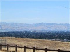 Moffett Field, from the dish trail