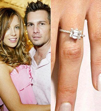 Kate Beckinsale's Engagement ring   I love the look of a