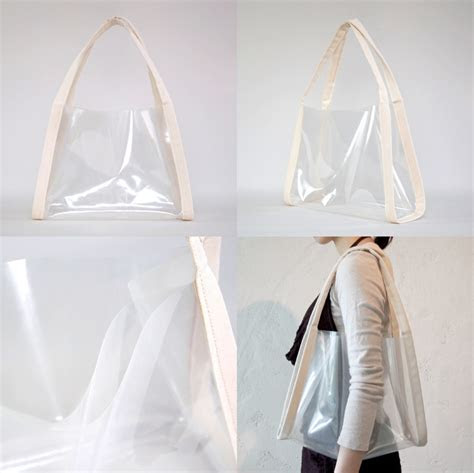 transparent bag  variations    project