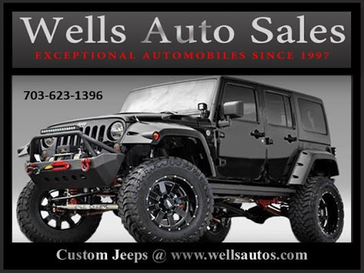 Used 2016 Jeep Wrangler Unlimited Sport 4WD for Sale in Warrenton VA 20186 Wells Auto Sales