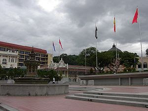 English: Dataran Merdeka (Independence Square)...