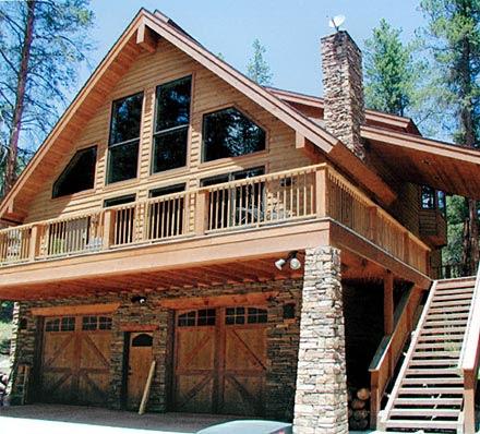 C 511Chalet House  Plan  from CreativeHousePlans com
