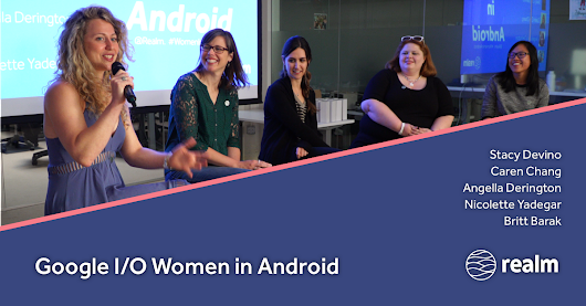 Google I/O 2017 Women in Android Panel
