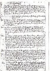 1717 Papist Return - Mawdesley