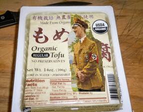 Organic Hitler Tofu