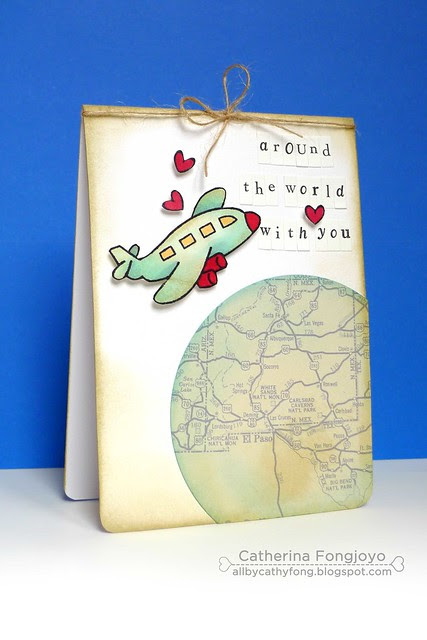 Around the world with you