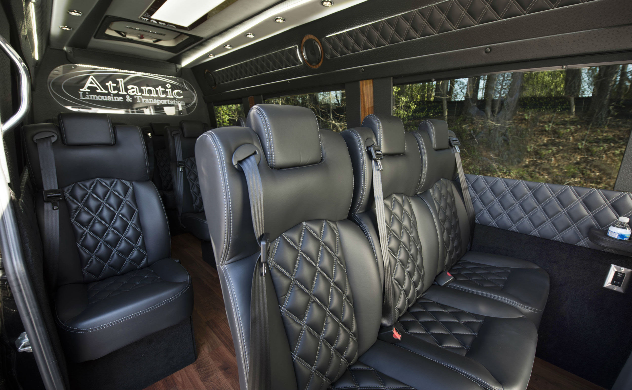 Sprinter Passenger Van Rental in Atlanta - Atlantic Limo