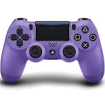Sony DualShock 4 v2 USB Bluetooth Controller for PS4 Pro/PS4 - Electric purple