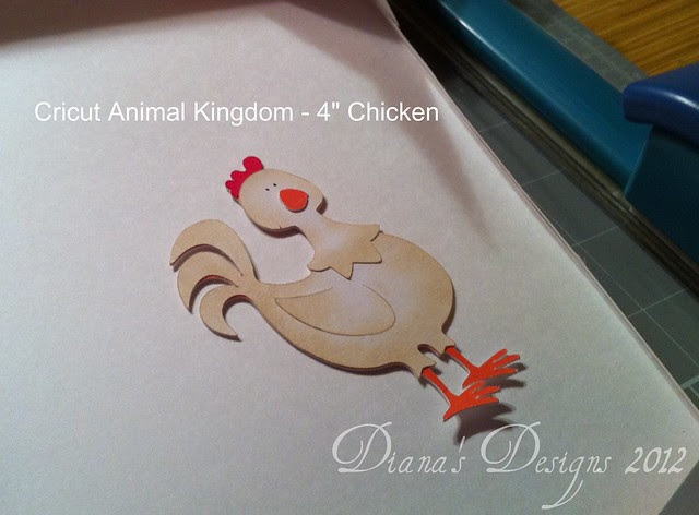 Cricut Animal Kingdom Chicken