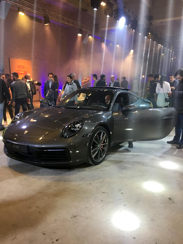Porsche Centre Lebanon Unveils Newest 911 In Spectacular