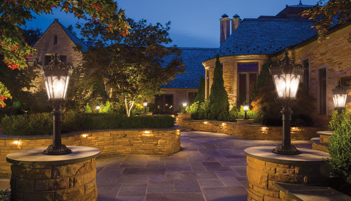 Landscape Lighting Ideas for Walkways: Why and How - Gross ...