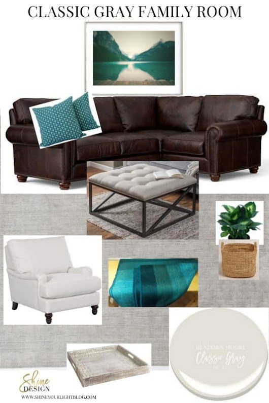 Classic Gray | In The Family Room - Shine Your Light