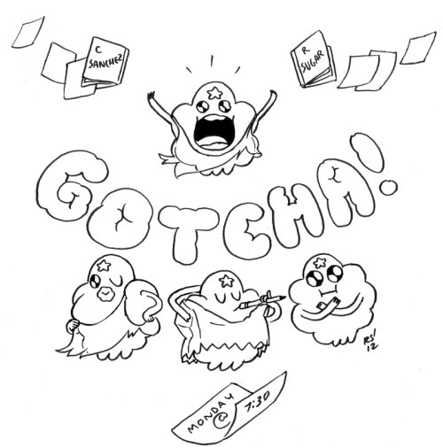 New episode of Adventure Time starring LSP! GOTCHA! Monday at 7:30!