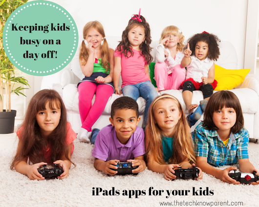 Kids home? Need 10 minutes? Try this iPad app!