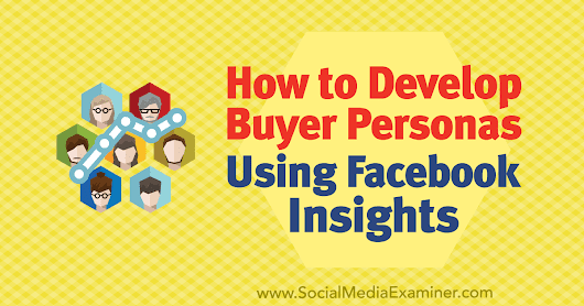 How to Develop Buyer Personas Using Facebook Insights