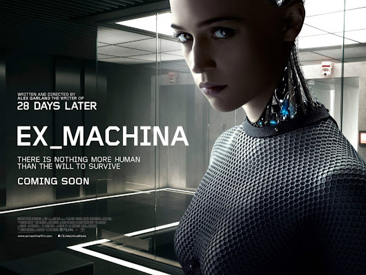 First Poster for Alex Garland's Ex_Machina