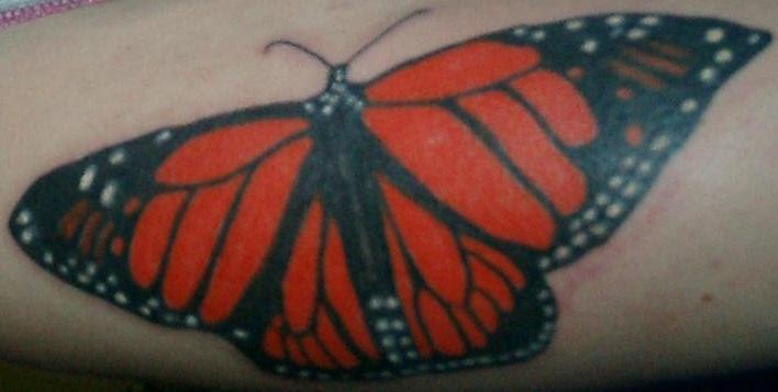 My Monarch Butterfly Tattoo